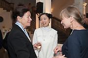 TERESA ROSTBOLL; MARIKO MORI Mariko Mori opening, Royal Academy Burlington Gardens Gallery. London. 11 December 2012.