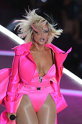November 8, 2018 - New York, New York, U.S. - Singer BEBE REXHA performs during the 2018 Victoria's Secret runway show at Pier 94 in New York. (Credit Image: © Philip Vaughan/Ace Pictures via ZUMA Press)
