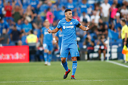 August 24, 2018 - Bruno of Getafe during the spanish league, La Liga, football match between Getafe and Eibar on August 24, 2018 at Coliseum Alfonso Perez stadium in Madrid, Spain. (Credit Image: © AFP7 via ZUMA Wire)