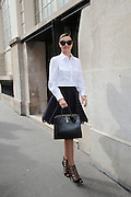 Miranda Kerr leaving Vitamin store Azzedine Alaia ' in Paris<br /> ©Exclusivepix Media
