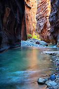 The Narrows at Zion National Park Utah