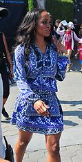 LA: Bachelorette Rachel Lindsay at Universal City Walk - 19 July 2017