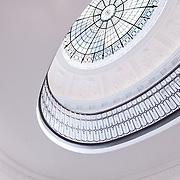 Atrium in the Gallery of Modern Art in Glasgow, Scotland.