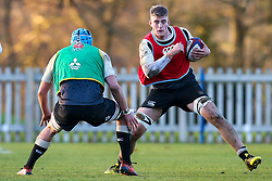 Alex Coles of England Under 20s - Mandatory by-line: Robbie Stephenson/JMP - 08/01/2019 - RUGBY - Bisham Abbey National Sports Centre - Bisham Village, England - England Under 20s v  - England Under 20s Training