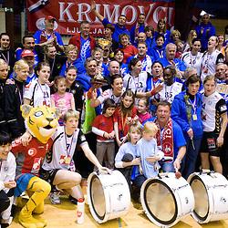 20100515: SLO, Handball Women National Championships, RK Krim Mercator vs RK Olimpija