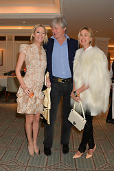 Left to right, the HON.SOPHIA HESKETH, The MARQUESS OF WORCESTER and PRINCESS ELISABETH VON THURN & TAXIS at the launch of Mrs Alice in Her Palace - a fashion retail website, held at Fortnum & Mason, Piccadilly, London on 27th March 2014.