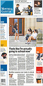 August 24, 2021 - CANADA: Front-page: Today's Newspapers In Canada