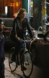 November 8, 2016 - New York, New York, United States - Actress Charlize Theron was on the Brooklyn set of the new movie 'Tully' on November 8 2016 in New York City  (Credit Image: © Zelig Shaul/Ace Pictures via ZUMA Press)