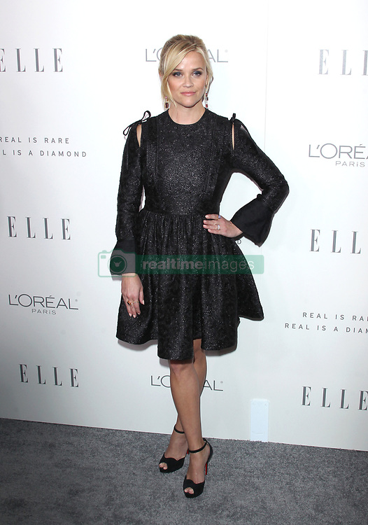 Elle Women in Hollywood Awards - Los Angeles. 16 Oct 2017 Pictured: Reese Witherspoon. Photo credit: Jaxon / MEGA TheMegaAgency.com +1 888 505 6342