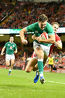 Rugby - 2019 pre-Rugby World Cup warm-up (Under Armour Summer Series) - Wales vs. Ireland<br /> <br /> , at Principality (Millennium) Stadium.<br /> <br /> COLORSPORT/WINSTON BYNORTH