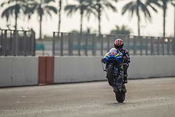 February 8, 2019 - Sepang, SGR, U.S. - SEPANG, SGR - FEBRUARY 08: Alex Rins of Team Suzuki Ecstar in action during the third and final day of the MotoGP official testing session held at Sepang International Circuit in Sepang, Malaysia. (Photo by Hazrin Yeob Men Shah/Icon Sportswire) (Credit Image: © Hazrin Yeob Men Shah/Icon SMI via ZUMA Press)