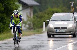Maciej Bodnar   (POL) of Liquigas in Slovenske Konjice at 3rd stage of Tour de Slovenie 2009 from Lenart to Krvavec, 175 km, on June 20 2009, Slovenia. (Photo by Vid Ponikvar / Sportida)