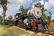 Old steam locomotive in Ciego de Avila, Cuba.