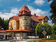 Centrum uzdrowiska Kudowa Zdrój, Polska<br /> Centre of Kudowa Spring, Poland