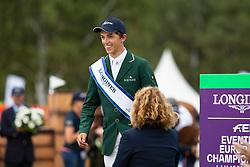 Individual Podium, Daniels Cathal, IRL, Bonze medal<br /> European Championship Eventing<br /> Luhmuhlen 2019<br /> © Hippo Foto - Dirk Caremans
