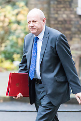 Downing Street, London, December 13th 2016. Work and Pensions Secretary Damian Green arrives at the weekly meeting of the cabinet at Downing Street, London.