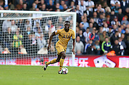 Victor Wanyama of Tottenham Hotspur in action.Premier league match, West Bromwich Albion v Tottenham Hotspur at the Hawthorns stadium in West Bromwich, Midlands on Saturday 15th October 2016. pic by Andrew Orchard, Andrew Orchard sports photography.