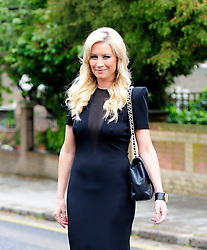 Denise Van Outen leaves her North London home before heading to Britain's Got Talent. London, UK. 28/05/2013<br /> <br /> BYLINE MUST READ : GOTCHAIMAGES.COM<br /><br />Copyright by © Gotcha Images Ltd. All rights reserved.<br />Usage of this image is conditional upon the acceptance <br />of Gotcha Images Ltd, terms and conditions available at<br />www.gotchaimages.com