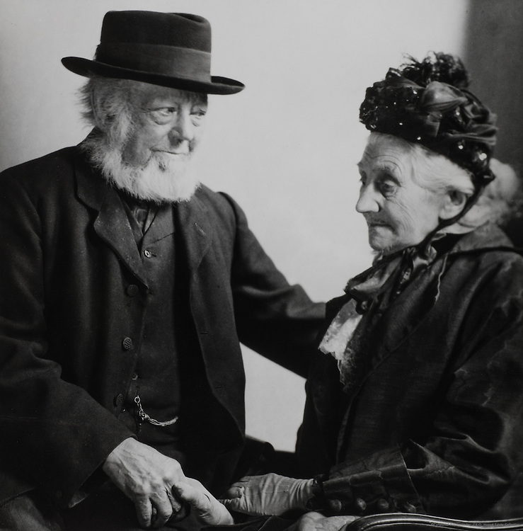 """""""Darby and Joan"""" Josiah and Mrs. Dean, England, UK, 1921"""