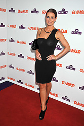 KIRSTY GALLACHER at the 2009 Glamour Magazine Awards held in Berkeley Square, London on 2nd June 2009.