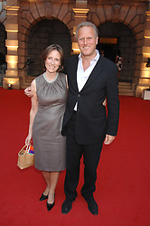 JONATHAN MARLAND MP and his wife PENELOPE at the Royal Academy of Art Summer Exhibition Preview Party on 4th June 2008.<br /><br />NON EXCLUSIVE - WORLD RIGHTS