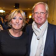 NLD/Leiden/20130930 - Premiere Garland, Marga van Praag en partner Ben Haveman
