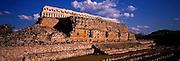 MEXICO, MAYAN, YUCATAN Kabah; the Palace of the Masks
