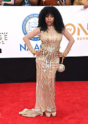 Annie Ilonzeh at the 49th NAACP Image Awards held at the Pasadena Civic Auditorium on January 15, 2018 in Pasadena, CA ©TArroyo/AFF-USA.com. 15 Jan 2018 Pictured: Paula Jai Parker. Photo credit: MEGA TheMegaAgency.com +1 888 505 6342