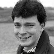 NLD/Huizen/19920204 - Journalist Bertil Rebel
