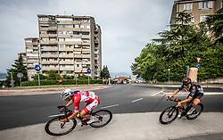 Kristjan Hocevar, Matevz Govekar during Slovenian National Road Cycling Championships 2021, on June 20, 2021 in Koper / Capodistria, Slovenia. Photo by Vid Ponikvar / Sportida