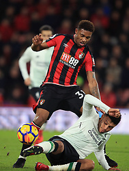 17 December 2017 -  Premier League - AFC Bournemouth v Liverpool - Jordon Ibe of AFC Bournemouth in action with Alex Oxlaide-Chamberlain of Liverpool - Photo: Marc Atkins/Offside