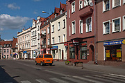 Kętrzyn, 2009-08-09. Centrum Kętrzyna