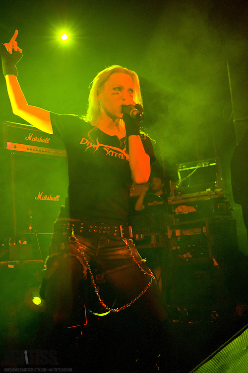 Arch Enemy performing live at Manchester Academy 2, Manchester, UK, 2010-11-27