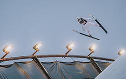 29.02.2020, Salpausselkae Hill, Lahti, FIN, FIS Weltcup Ski Sprung, Herren, Teamspringen, im Bild Marius Lindvik (NOR) // Marius Lindvik of Norway during the men's team event of FIS Ski Jumping World Cup at the Salpausselkae Hill in Lahti, Finland on 2020/02/29. EXPA Pictures © 2020, PhotoCredit: EXPA/ JFK