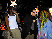 Wyclef Jean, Bono of U2 and George Plimpton<br />