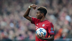 04.11.2015, Allianz Arena, Muenchen, GER, UEFA CL, FC Bayern Muenchen vs FC Arsenal, Gruppe F, im Bild David Alaba (FC Bayern) // during the UEFA Champions League group F match between FC Bayern Munich and FC Arsenal at the Allianz Arena in Munich, Germany on 2015/11/04. EXPA Pictures © 2015, PhotoCredit: EXPA/ JFK