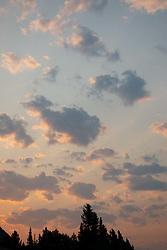 Dawn Clouds, Glacier National Park, Montana, US