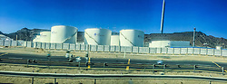 Street images from a panoramic photo from an iPhone6, Fujairah oil Terminal, Khor Fakkan. Images from the MSC Musica cruise to the Persian Gulf, visiting Abu Dhabi, Khor al Fakkan, Khasab, Muscat, and Dubai, traveling from 13/12/2015 to 20/12/2015.