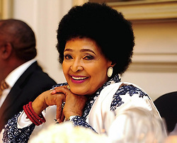 "Winnie Madikizela-Mandela personifies everything about the African saying ""Woman, you are a rock"", Deputy President Cyril Ramaphosa said at her 80th birthday celebrations in Cape Town.<br />
