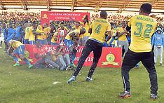 Mamelodi Sundowns Celebrate PSL League Win - 12 May 2018