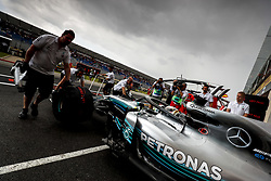June 23, 2018 - Le Castellet, France - Motorsports: FIA Formula One World Championship 2018, Grand Prix of France, .#44 Lewis Hamilton (GBR, Mercedes AMG Petronas Motorsport) (Credit Image: © Hoch Zwei via ZUMA Wire)