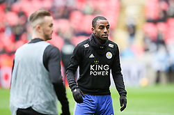 Ricardo Pereira of Leicester City during the warm up - Mandatory by-line: Arron Gent/JMP - 10/02/2019 - FOOTBALL - Wembley Stadium - London, England - Tottenham Hotspur v Leicester City - Premier League