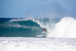 December 16, 2018 - Pupukea, Hawaii, U.S. - Miguel Pupo of Brazil advances to round 3 after placing first in round 2 heat 5 of the Billabong Pipe Masters. (Credit Image: © Tony Heff/WSL via ZUMA Wire)