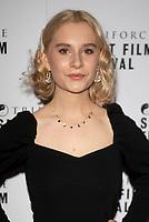 Ella Greenwood at the TriForce Short Film Festival gala ceremony, BFI Southbank, London, UK - 30 Nov 2019