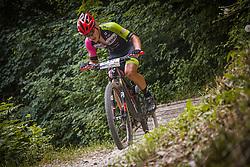 Stajnar Mihael of Meblojogi Pro Concret during the race of XCO National Championship of Slovenia 2021 on 27.06.2021 in Kamnik, Slovenia. Photo by Urban Meglič / Sportida