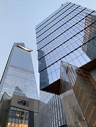 Architecture of The Hudson Yards in New York City
