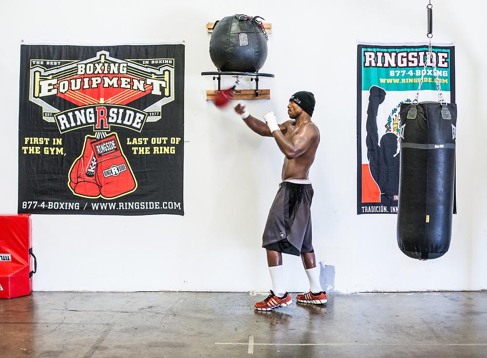 Otis Griffin - Boxing - Sacramento, California - 2012