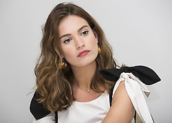 June 13, 2017 - Hollywood, California, U.S. - Lily James stars in Baby Driver (Credit Image: © Armando Gallo via ZUMA Studio)