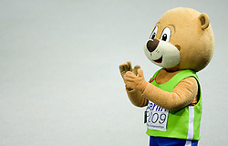 Official mascot at the 2009 IAAF Athletics World Championships on August 16, 2009 in Berlin, Germany. (Photo by Vid Ponikvar / Sportida)