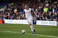 Tranmere Rovers' Jake Cassidy on the ball. Skybet football league 1 match, Tranmere Rovers v Carlisle United at Prenton Park in Birkenhead, England on Saturday 29th March 2014. pic by Chris Stading, Andrew Orchard sports photography.